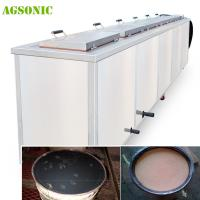 Quality Industrial Ultrasonic Tank 40khz Diesel Particulate Filter Cleaning Machine With Dying System for sale