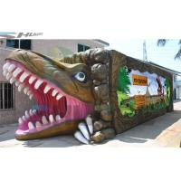 Quality 7.1 Audio system Mobile and  product promotion 5D cinema cabin with dinosaur box for sale