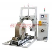 Quality Heavy Duty Wire Coil Wrapping Machine , Highly Efficiency Vertical Wrapping Machine for sale