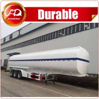 Quality transporting highly flameable liquids petrol, crude oil, fuel tank trailer for sale