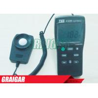 Quality TES-1335 Electrical Instruments Digital Light Meter Ranging 0 to 400,000 Lux High Precision for sale
