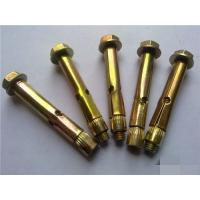 Buy High Strength Concrete Sleeve Anchors Yellow/ Color For Construction Building at wholesale prices