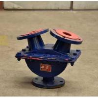 Quality Industrial Automatic Control Pipeline Valves For Guiding Pulp , Y - Ball Valve for sale