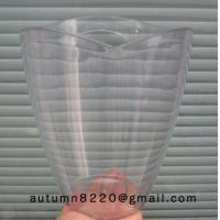 Quality lucent ice cream maker plastic bucket for sale