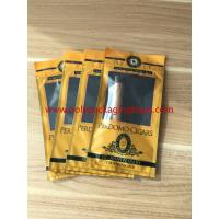 European And American Cigar Moisturizing Plastic Zipper Bags With Humidified System