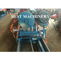 Buy Gear Box Unistrict Channel Roll Forming Machine Solar Rack 22kw Power C Shape at wholesale prices