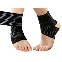 Quality Sports Elastic Knee Ankle Elbow Wrist Support Wraps Compression .Elastic material.Customized size. for sale