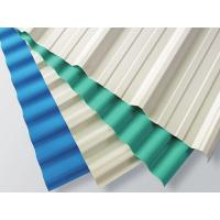 Quality White Plastic Corrugated Roofing Sheets 1130mm Width / 2mm Thickness for sale