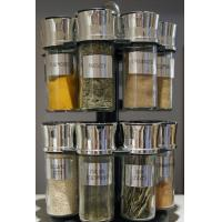 Quality 6pcs glass spice bottle,recycled clear glass jar for sale