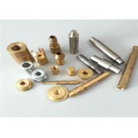 Quality Lathe Turning Brass CNC Turned Parts , Full Inspection Custom Machined Parts for sale