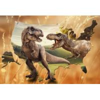 Quality Lifelike Animal Dinosaur 3D Lenticular Postcard 12x17cm Customized Theme Pictures for sale
