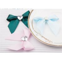 Buy Decoration Tie Satin Ribbon Bow Washable Home Textile With Dyeing at wholesale prices