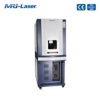Quality Tiny Focus Beam Spot Green Laser Marking Machine With Narrow Pulse Width for sale