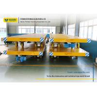 Quality Easy Operated Heavy Duty Plant Trailer / Material Handling Carts Towing Control for sale