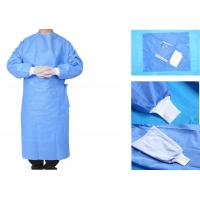 Quality Operating Room Sterile Disposable Surgical Gowns Nonwoven 3 Anti for sale