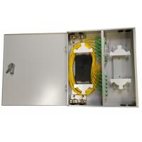 Quality CGP(05)A-24 FTTH Steel Fiber Optic Distribution Box Size 455x405x80mm for sale