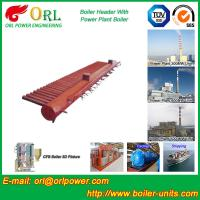 Quality Condensing Gas Boiler Low Loss Headers , Power Station Heating Header Tank for sale