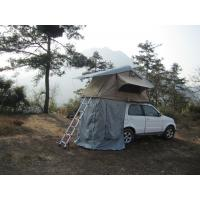 Quality Anti Water Car Roof Mounted Tent With 2M Extendable Aluminum Ladder for sale