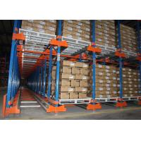 Quality Multi Category Detachable Radio Shuttle Pallet Racking For Distribution Center for sale