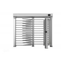 Quality Semi auto security Turnstile Full Height Anti tailgating with optimal traffic rate for sale