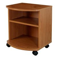 Quality Movable Bedroom Night Stands Particle Board , Contemporary Bedside Tables For Tighter Spaces for sale