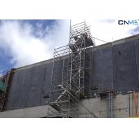 Quality Aluminium Stair Type Concrete Shoring Systems , Lightweight Scaffolding Systems for sale
