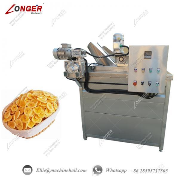 commercial banana chips fryer equipment