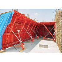 Quality Professional Red Color Tunnel Formwork System Reusable OEM / ODM Available for sale