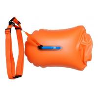 Quality 20L 28L Open Water Swim Buoy , Light Weight Swim Buoy Dry Bag For Triathletes for sale