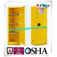 Quality Flammable Chemical Safety Storage Cabinets 22 Gallon With Single Door for sale