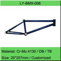 Chromoly BMX Bike Frame / Freestyle Bicycle Frame Manufacturer for sale