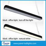 Quality 1800LM 18w 36w IP65 Led Hanging Office Pendant Light Modern Aluminium Strip for sale