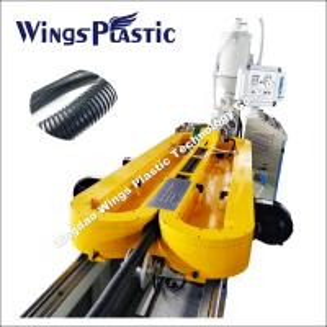 China Plastic Flexible Conduit Making Machine, Threading Hose Production Line on sale