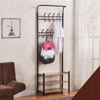 Quality Clothes tree Combination of clothes and shoes display Retail Display racks for sale