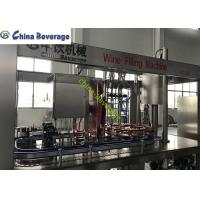 China Red Wine Bottle Filling Equipment 4 Glass Bottle With Multi - Room Feeding on sale