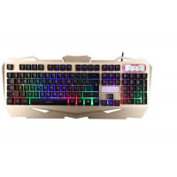 Buy Korea Layout USB Gaming Keyboard Multimedia With Suspension Keycaps Aluminum at wholesale prices