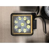"""Quality Factory Promotion 12V 24V Offroad Truck 5.1"""" Square 27W LED Work Light with Ring and Strobe Model for sale"""