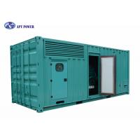 Quality Silent 1500kVA Cummins Diesel Generator Water Cooled For Military for sale