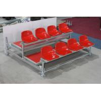Quality Stadium Outdoor Bleacher Seating , Scaffolding Style Portable Bleacher Chairs With Backs for sale