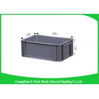 Quality Virgin PP Plastic Stacking Boxes Light Weight , Large Plastic Storage Containers for sale