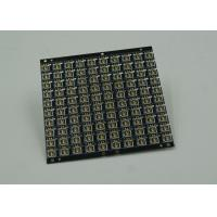 Quality Black Soldermask 2 Layer FR4 PCB Board White Silkscreen ENIG PCB Fabrication for sale