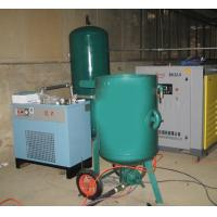 Buy Fixed High Pressure Sand Blasting Machine , Metal Surface Blast Cleaning Equipment at wholesale prices