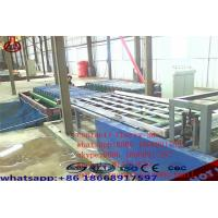 Quality Decorative Magnesium Oxide Board Production Line Capacity 2000 Sheets / Shift for sale