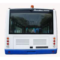Quality 4 Stroke Diesel Engine Ramp Bus , 110 Passenger Luxury Airport Shuttles for sale