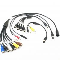Quality Customized Male To Female Backup Camera Extension Cable ROHS / CCC for sale
