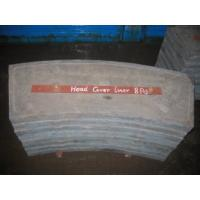 Buy Cement Mill Gray Iron Casting , High Cr White Iron Castings End Liners at wholesale prices
