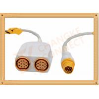 Quality Siemens IBP Cable 8 Pin to 10 Pin for Invasive Blood Pressure for sale
