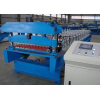 Quality Galvanized Corrugated Roofing Sheet Roll Forming Machine Production Line for sale