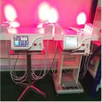 Vertical Cold Laser Lipo Machine / Laser Weight Loss Machine Higher Safe Standard for sale