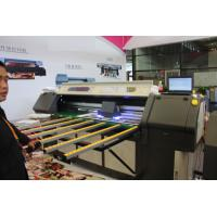 Quality Outdoor Roll To Roll Printer , Double Lamps LED UV Printer With DX5 / DX7 Epson Printing Heads for sale